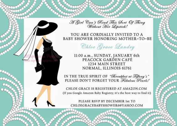 Breakfast at Tiffany's baby shower | The Future ♡ | Pinterest | Babies, Tiffany baby showers and ...