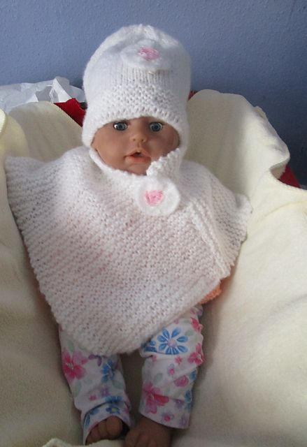 Knitting Patterns Galore Baby : Knitting Patterns Galore - Icicle Baby Hat and Poncho another knitting site...