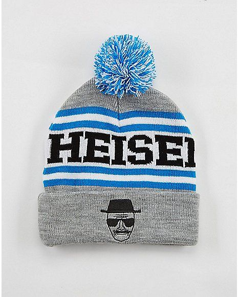 Breaking Bad Heisenberg Cuffed Beanie - Spencer's