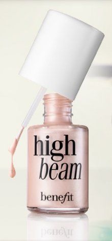 Benefit High Beam: Love this illuminator for a pretty very natural everyday look. Pair this with a touch of dandelion on the cheeks. Also apply to cupid's bow/brow bone as needed