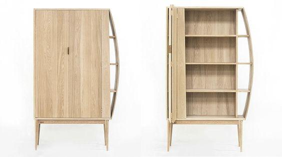 A biblioteca Bookshelf propõe uma interação entre o usuário e a decoração da…