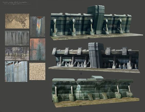 concept art wall - Поиск в Google