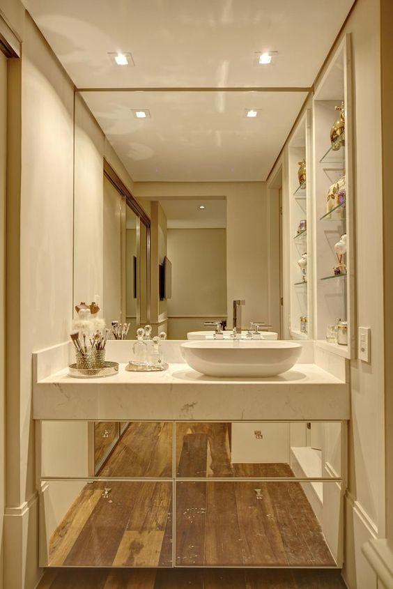 Aparador Area Gourmet ~ 10 Dicas para Armário de Banheiro com 37 fotos incríveis
