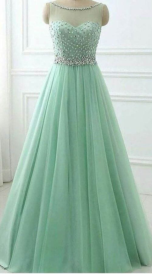 Pastel Green Net High Netted Gown For Festival Wj81125 Net Gowns Gowns Gown Party Wear