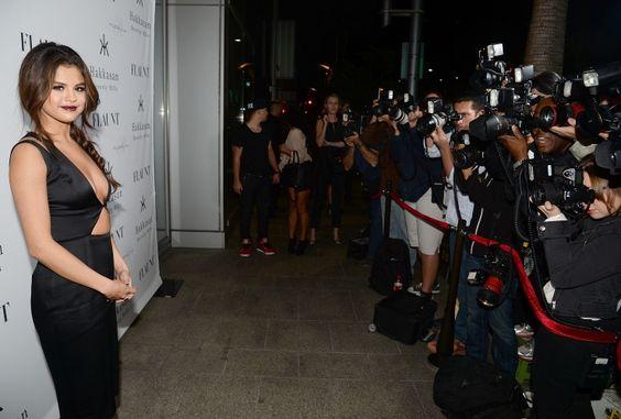 The cameras love her. Selena Gomez impresses paparazzi on Nov. 7 in Beverly Hills, Calif.