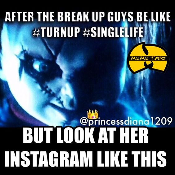 After the breakup...