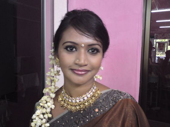 Simple Tamil Bridal Plait Hairstyle With Jasmine Flowers ...