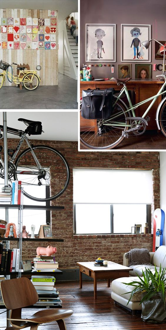 Ideas para decorar tu casa con tu bicicleta vieja for Decorar una casa vieja