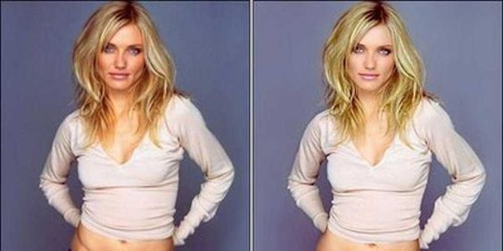Models Are So Thin Magazines Have To Photoshop Them Fatter