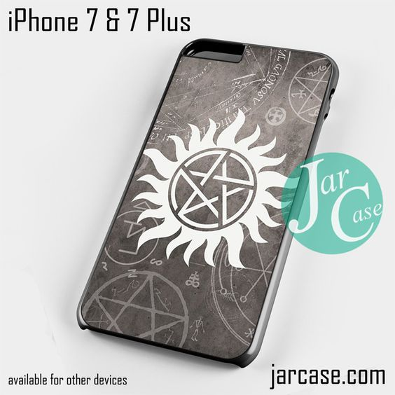 supernatural logo Phone case for iPhone 7 and 7 Plus