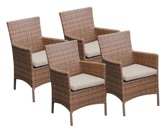 Peacon Dining Arm Chair with Cushion