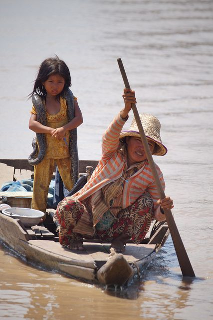 Floating Village . Siem Reap, Cambodia