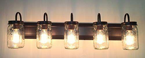 12 Brilliant Bathroom Light Fixture Ideas With Images Rustic