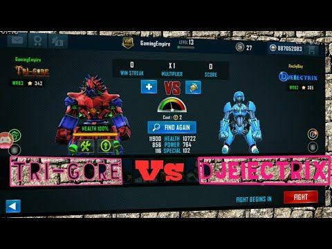 Tri Gore Real Steel World Robot Boxing Vs Djeiectrix And Zeus Vs