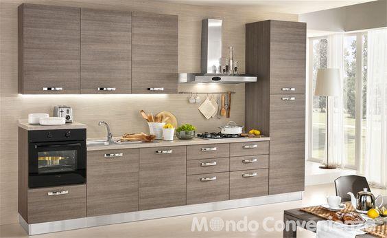 Cucina Stella - Mondo Convenienza | Home | Pinterest | Kitchens ...