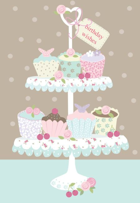 Martina Hogan - HAPPY BIRTHDAY CUPCAKES.jpg: