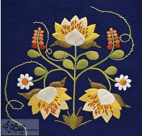 Twilight Garden Quilts by C Publishing, via Flickr