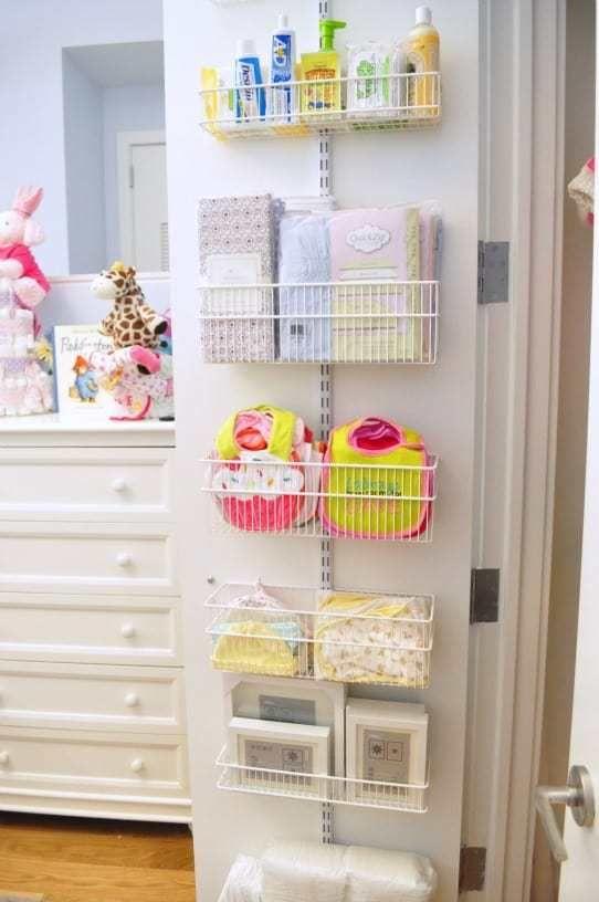 Nursery Organizing Hacks Baby Storage Baby Closet Baby Organization