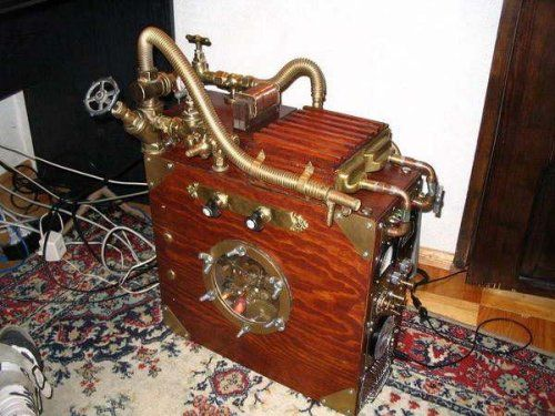 Steampunk Brewery PC casemod is awesome