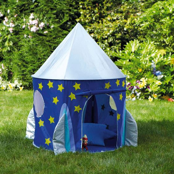 Rocket Pop Up Tent - Play Tents & Wigwams - Toys & Gifts - gltc.co.uk