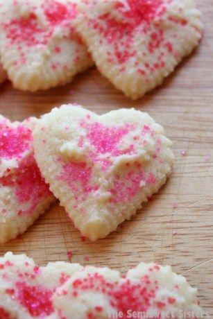 Valentine's Day Heart Shaped Spritz Cookies