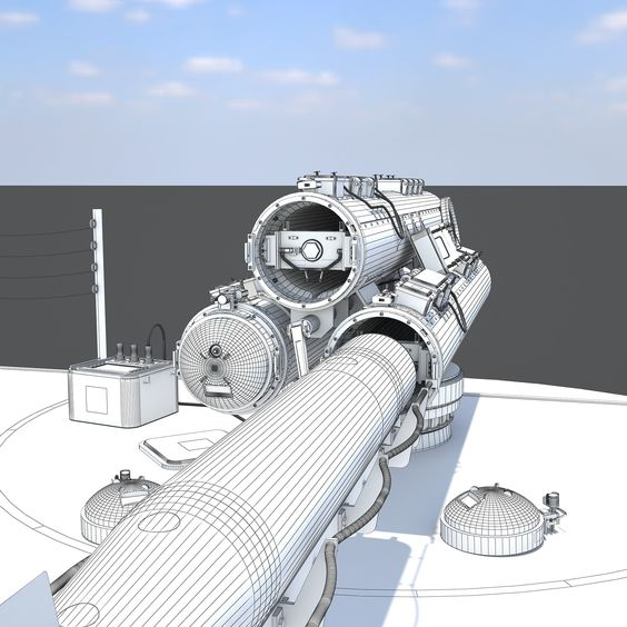 [Mark 32 Surface Vessel Torpedo Tubes Diorama] http://www.turbosquid.com/3d-models/3d-mark-32-surface-vessel/973722