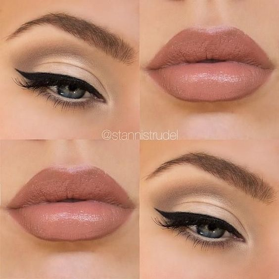"""Christiaan Schodel (Stanni) on Instagram: """"#day16 of #100daysofmakeup... ❤ liked on Polyvore featuring beauty products, makeup, eyes, lips, beauty and eye makeup"""