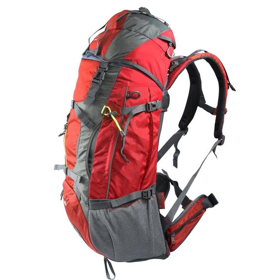 Aircee (TM) 60L Hiking Backpack With Back Frame Support ...