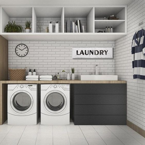 ✔56 amazing laundry room decorating ideas to inspire you 18 > Fieltro.Net