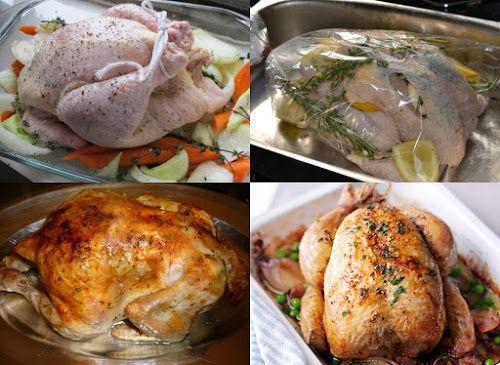 طريقة عمل الدجاج المشوي بالكيس Recipes Food Roasted Chicken