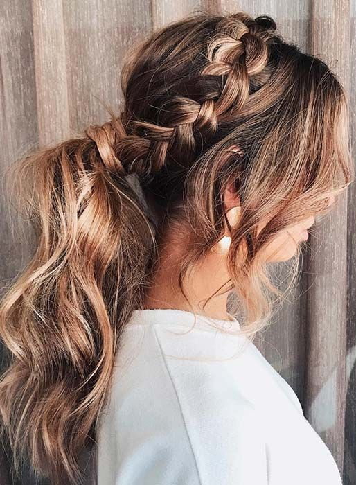 63 Stunning Prom Hair Ideas For 2020 With Images Thick Hair