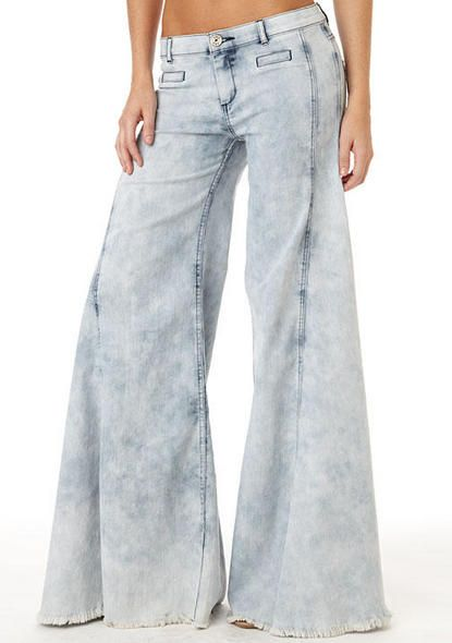 S By Standards & Practices Extreme Vintage Flare Jean