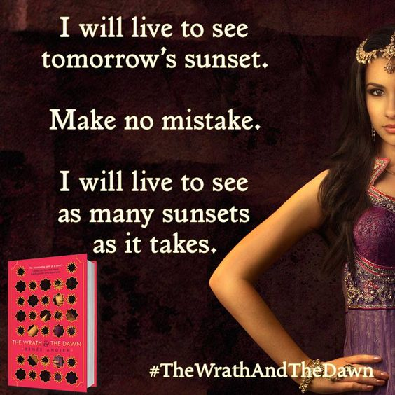 #TheWrathAndTheDawn by #ReneeAhdieh