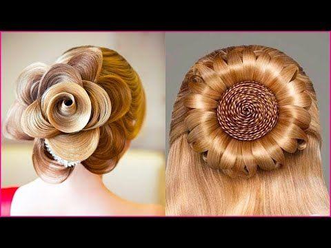 تسريحات شعر جديدة 2018 تسريحات شعر سهلة و سريعة في دقائق أبهري صديقاتك بأحلى تسريحات Youtube French Twist Hair Hair Styles Peinados Hair Styles