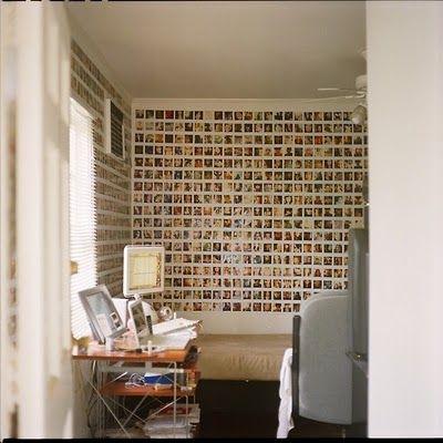 polaroid wall.:
