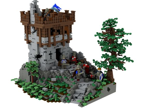 Medieval tower by Becheman on Brickshelf