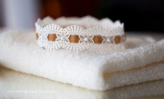 Newborn Knit Stretch Wrap and Headband Set by ItsyBitsyBlooms, $32.00