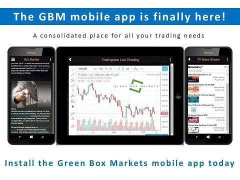 Youtube Green Box Markets Mobile App Overview Mobile App App