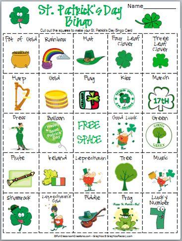 St. Patricks Day Bingo