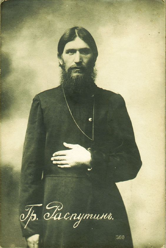 Rasputin by Karl Bulla 1904, A strange one indeed. He was poisoned with cyanide that seemed have no effect, was then beaten ,as well as shot several times (nothing seemed to kill the guy) and finally thrown into an icy river... Autopsy showed that his death was by drowning.: