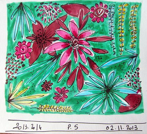 Hikaya- un jour, un dessin pour un pattern..nº5