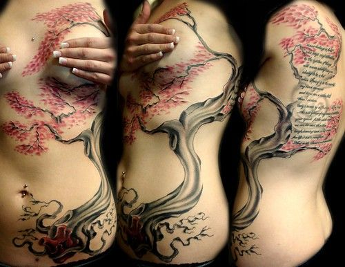 i love this, i want to create something so beautiful, and with so much power on the human body, i don't think tattoos define a person, i think they enhance them