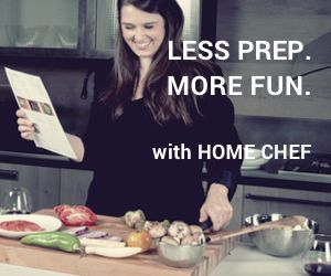 fresh ingredient & recipes delivered = Less prep work, and way more fun…
