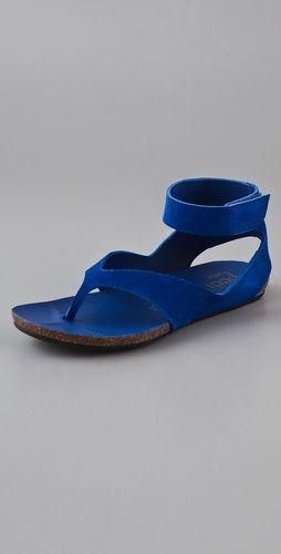 Pedro Garcia Jana suede Flat sandals $375 shopbop.com