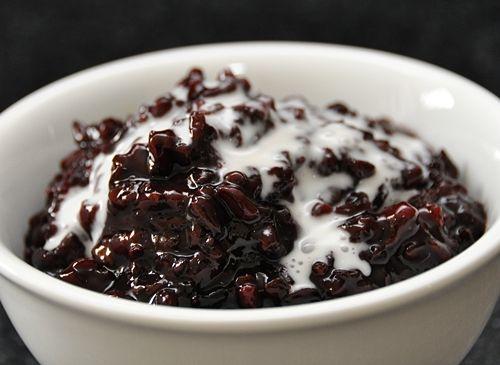 Black rice, Rice puddings and Black rice pudding