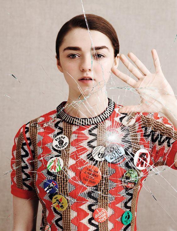 Maisie Williams by Ben Toms for Dazed Magazine Spring:Summer 2015 3