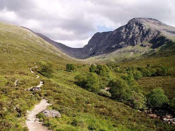 A Path Up Ben Nevis