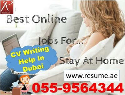 Resumeae TOP 4 STAY-AT-HOME JOBS, follow us at http\/\/resum - stay at home resume