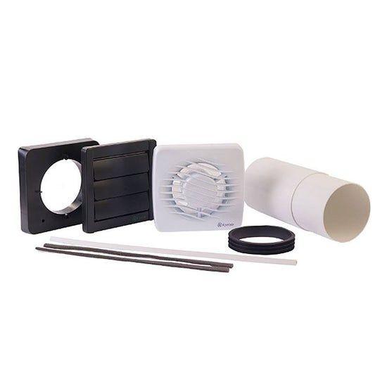 Xpelair Standard Bathroom Fan With Fitting Kit Bathroom Fan