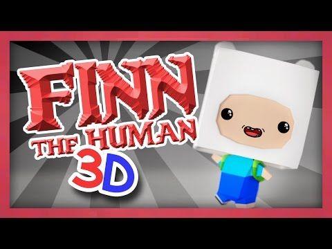 Finn the Human in 3D! - Speedmodel (narrated) - Pixlpit - YouTube